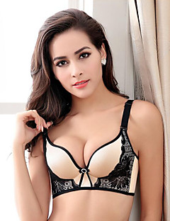 Women's Bras,Push-up Wireless Cotton Rayon,Sexy Lace,5 Colours