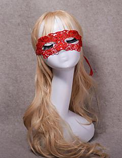 Prinsesse Høytidssmykker Kvinnelig Halloween De dødes dag Festival/høytid Halloween-kostymer Rød Helfarve