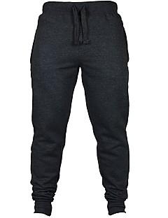 billige Løbetøj-Herre Løbebukser Fitness, Løb & Yoga Bukser Løb Mørkeblå / Mørkegrå / Grå L / XL / XXL