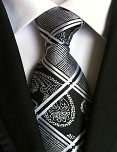 Men's Polyster Neck Tie,Striped Striped All Seasons