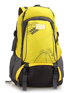 男性 バッグ ナイロン スポーツ&レジャーバッグ ジッパー のために 登山 オールシーズン グリーン ブラック イエロー レッド