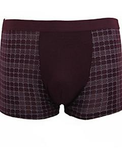 Men's Sports Plaid Boxers Underwear