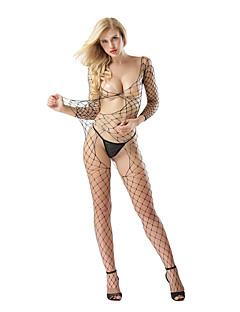 abordables -Costumes Vêtement de nuit Femme,Sexy Jacquard Polyester Spandex