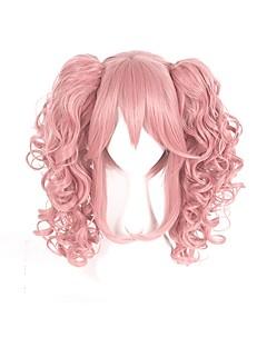billiga Anime/Cosplay-peruker-Cosplay Peruker Cosplay Cosplay Animé Cosplay-peruker 40cm CM Värmebeständigt Fiber Herr Dam