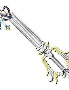 billige Anime Cosplay Tilbehør-Våpen / Sverd Inspirert av Kongerike Hjerter Cosplay Anime Cosplay Tilbehør Våpen Hvit ABS / PVC Mann / Kvinnelig