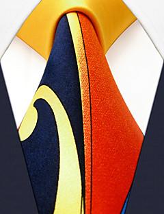 Homme Motif Soie Cravate,Imprimé Toutes les Saisons