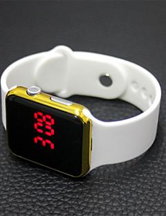 Homens Mulheres Relógio Casual Relógio Esportivo Relógio de Moda Relogio digital Chinês Digital LCD Borracha Banda Casual Elegant Natal