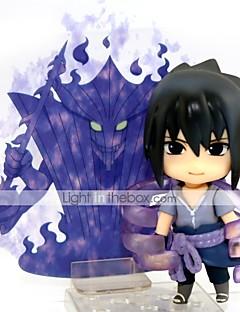 Anime Action Figurer Inspirert av Naruto Sasuke Uchiha 10 CM Modell Leker Dukke