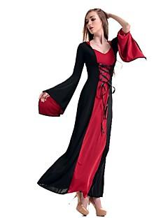 Klassiek en Tradtioneel Lolita Princes Geïnspireerd door vintage Elegant Vrouwelijk Badpak Jurken Cosplay Kostuums Gemaskerd Bal Cosplay