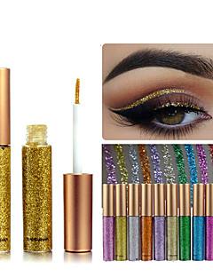 1kpl sateenkaaren värit luomivärit glitter pitkäikäinen vesitiivis luomiväri eyeliner meikki