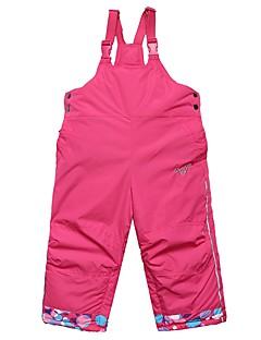 Para Meninas Calças de Esqui Quente Secagem Rápida A Prova de Vento Zíper á Prova-de-Água Vestível Resistente aos raios UV Esqui