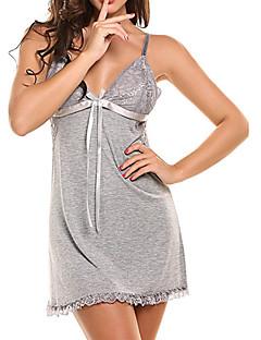 abordables -Ultra Sexy Vêtement de nuit Femme Solide-Moyen