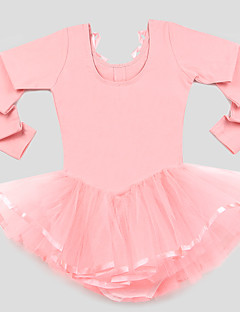 tanie Dziecięca odzież do tańca-Dziecięca odzież do tańca Szkolenie Tiul 100% Bawełna Długi rękaw