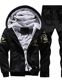 Men's Sports Holiday Hoodie Print Polyester