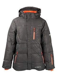 billiga Skid- och snowboardkläder-Herr Skidjacka Varm Skidåkning 100% Polyester Dunjackor Skidkläder