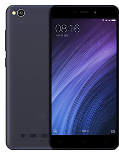 xiaomi redmi 4a smartphone de 5 in 4g (2gb + 16gb 13mp snapdragon 425 3120mah)