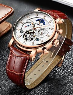 Herrn Uhren Etuis Totenkopfuhr Armbanduhr Mechanische Uhr Einzigartige kreative Uhr Armbanduhren für den Alltag Modeuhr Kleideruhr