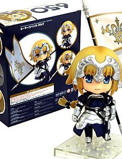 billige Anime cosplay-Anime Action Figurer Inspirert av Fate/Stay Night Saber 10 CM Modell Leker Dukke