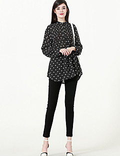 billige Skjorte-Dame - Trykt mønster I-byen-tøj Skjorte