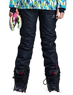 billiga Skid- och snowboardkläder-Dam Skidbyxor Vindtät, Vattentät, Varm Camping / Skidåkning / Utomhusträning Chinlon Snö Bibbyxor Skidkläder