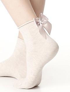 billige Sokker og strømper til damer-Herre Dame Sokker-Ensfarget,Printer Normal