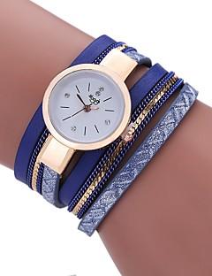 billige Armbåndsure-Dame Quartz Armbåndsur Kinesisk Imiteret Diamant PU Bånd Tassel Afslappet Bohemisk Mode Sort Hvid Blåt Gråt Beige