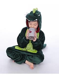 preiswerte Unterwäsche & Socken für Jungen-Jungen Schlafanzüge Druck Baumwolle Langärmelige Zeichentrick Grün Rosa
