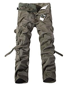 baratos Calças e Shorts para Trilhas-Homens Calças Cargo Ao ar livre A Prova de Vento, Vestível, Esportes de Inverno Inverno Calças Multi-Esporte XL XXL XXXL / Com Stretch