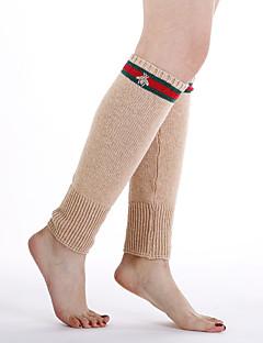 billige Sokker og strømper til damer-Dame Strømper - Stripet Varm