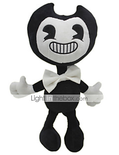 cheap Pre-Autumn Time Kid's-30cm Ghost Bendy and The Ink Machine Classic Theme Stuffed Animal Plush Toy Cute For Children Animals Silicone Girls' Toy Gift 1 pcs