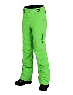 billiga Skid- och snowboardkläder-Herr Skidbyxor Varm, Vattentät, Vindtät Skidåkning Sammetschiffong Snö Bibbyxor Skidkläder