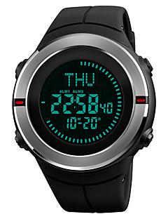 billige Luksus Ure-SKMEI Herre Digital Digital Watch Armbåndsur Sportsur Japansk Alarm Kalender Kronograf Vandafvisende Selvlysende i mørke Stopur Kompas PU