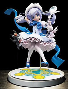 billige Anime cosplay-Anime Action Figurer Inspirert av Puella Magi Madoka Magica Gaara PVC CM Modell Leker Dukke Herre Dame