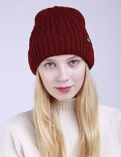 tanie Akcesoria zimowe-Damskie Aktywny Pleciony Floppy Kwiaty / Śłodkie / Zima