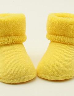 billige Undertøj og sokker til piger-Unisex Sokker & Strømper Alle årstider - Bomuld Grøn Gul