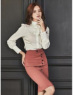 お買い得  レディースツーピースセット-女性用 セット カラーブロック スカート