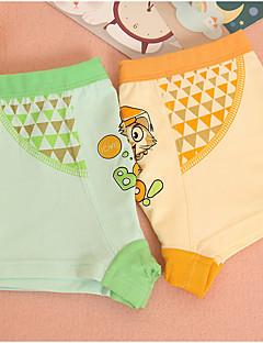 billige Undertøj og sokker til drenge-Unisex Undertøj Tegneserie, Bomuld Forår Simple Elastisk Orange