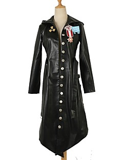 cheap Videogame Costumes-Inspired by PlayerUnknown's Battlegrounds Merlin Video Game Cosplay Costumes Cosplay Suits Solid Long Sleeves Coat