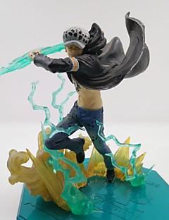 billige Anime cosplay-Anime Action Figurer Inspirert av One Piece Trafalgar Law PVC CM Modell Leker Dukke Herre Dame