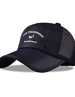 billige Clothing Accessories-Flat lue Sommer UV-bestandig Utendørs Trening Unisex Bomull