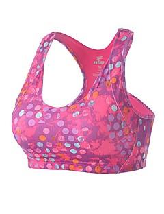 billige Løbetøj-Dame Sports-BH SportsBH'er - Sport Yoga, Løb Hurtig Tørre, Åndbarhed Sort, Rosa, Himmelblå Prikker