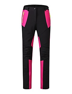 cheap Hiking Trousers & Shorts-Women's Hiking Pants Warm Waterproof Windproof Wearable Antistatic Breathability Ski / Snowboard Velvet Chiffon