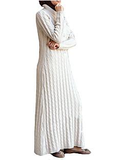 tanie Etniczne & Cultural Kostiumy-Moda Jalabiya Sukienka Kaftan Abaya Arabian Dress Damskie Festiwal/Święto Kostiumy na Halloween White Black Czerwony Niebieski Jendolity