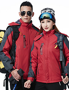 cheap Softshell, Fleece & Hiking Jackets-Men's Women's Hiking Down Jacket Outdoor Winter Waterproof Thermal / Warm Windproof Insulated Comfortable Top Camping / Hiking Cycling /