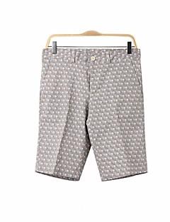 billige Herremote og klær-Herre Enkel Bomull Shorts Bukser Blomstret