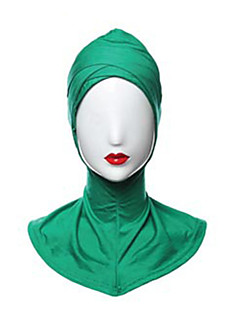 tanie Etniczne & Cultural Kostiumy-Kostiumy Egipskie Hidżab Damskie Festiwal/Święto Kostiumy na Halloween Purple Green Niebieski Różowy Ciemnozielony Jendolity kolor