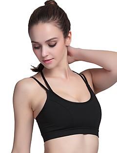 billige Løbetøj-Dame SportsBH'er - Sort, Blå, Lys pink Sport Undertøj Yoga, Løb Åndbarhed, Svedreducerende Ensfarvet