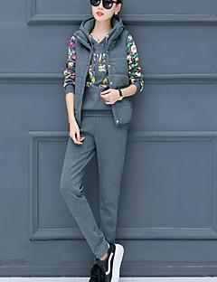 お買い得  レディースツーピースセット-女性用 アジアン・エスニック セット 幾何学模様 パンツ