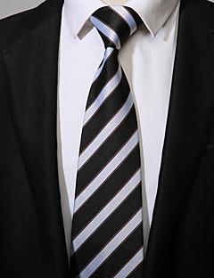 tanie Pan młody i drużbowie-Męskie Do biura Na co dzień Krawat Prążki