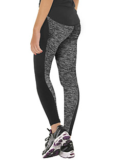 cheap Fitness Clothing-Leggings for Running Yoga Europe And The New AB-Sided Stitching Elastic Waist Leggings Hip Yoga Pants